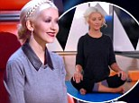 Ancient practice: Christina Aguilera insisted that her singer Jacquie Lee practice yoga on Monday night's episode of The Voice