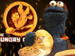 'May the cookies be ever in your flavour:' Hilarious Sesame Street Hunger Games parody sees Cookie Monster become heroine Cookieness Evereat