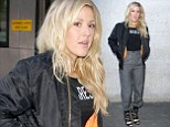 Ellie Goulding reverted back to her covered up style at BBC Radio 1