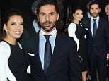 'He swept her off her feet!' Eva Longoria makes first public appearance with new boyfriend Jose 'Pepe' Antonio Baston