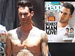 'I love being naked': says Adam Levine as he is crowned People's Sexiest Man Alive