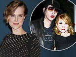 'People were pretty mean': Evan Rachel Wood on her controversial romance with Marilyn Manson and why the critics should leave Justin Bieber alone