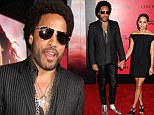 She's still his little girl! Lenny Kravitz takes daughter Zoe, 24, as his date to Hunger Games: Catching Fire LA premiere
