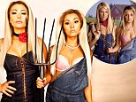 'That's hot!' Paris Hilton gives her seal of approval as Snooki and JWoww embody her and Nicole Richie in fun iconic TV duos shoot