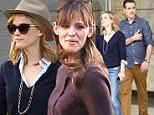 Jennifer Garner and Reese Witherspoon are ladies who lunch at Craft in honor of Dallas Buyer's Club