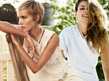 Jessica Hart and Isabel Lucas look lovely as they pose in preppy ensembles for Vogue Australia