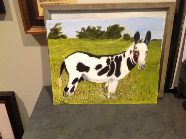 A Watermelon, a Golf Course, a Horse, and Monstrous Dogs: 12 New Paintings from George W. Bush