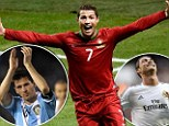 Ronaldo and Messi battle it out to be be No 1