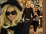 Will there be a ring in her stocking? Ashlee Simpson and boyfriend Evan Ross get into the festive spirit while Christmas shopping after he revealed: 'She's the one'