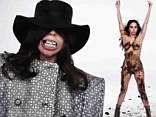 Haven't we seen this all before? New Lady Gaga video fails to shock despite featuring blood, nudity and THAT teeth grill