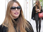 Pins on parade! Sofia Vergara shows off her endless legs in leather skirt and platform boots