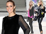 Check out my maternity style! Kristin Cavallari dresses her baby bump in three different ensembles in just one day