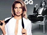 'I always feel as if it¿s not enough': GQ Woman Of The Year Jessica Hart poses in sultry shoot as she opens up about her career insecurities