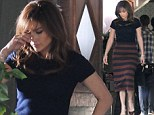 Toyboy on your mind? Jennifer Lopez appears to fight back tears for emotional scene on set of Boy Next Door