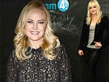 Yummy mummies! Malin Akerman and Anna Faris opt for lace and leather at the Variety Awards Studio