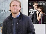 Casting carousel: Charlie Hunnam, left, shown in Los Angeles in October, bowed out of Fifty Shades Of Grey and was replaced by Jamie Dornan, who will play kinky billionaire Christian Grey