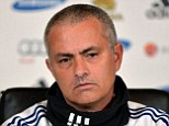 No phone call: Jose Mourinho has questioned the consistency of Mike Riley after the referee's boss apologised to West Brom for an incorrect penalty decision against Chelsea earlier this month