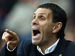 Speaking out: Gus Poyet says he will quit Sunderland unless he has the final say over transfers