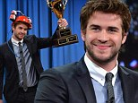 'I was a naughty kid': Liam Hemsworth admits to Jimmy Fallon he played with guns and now uses knives for entertainment