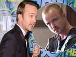 New role: Breaking Bad star Aaron Paul reportedly has been cast in a film alongside Russell Crowe and Amanda Seyfried