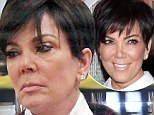 Struggling to Keep Up With Kim! Usually fresh faced Kris Jenner reveals very puffy eyes as exhausted reality star goes shopping with her daughter