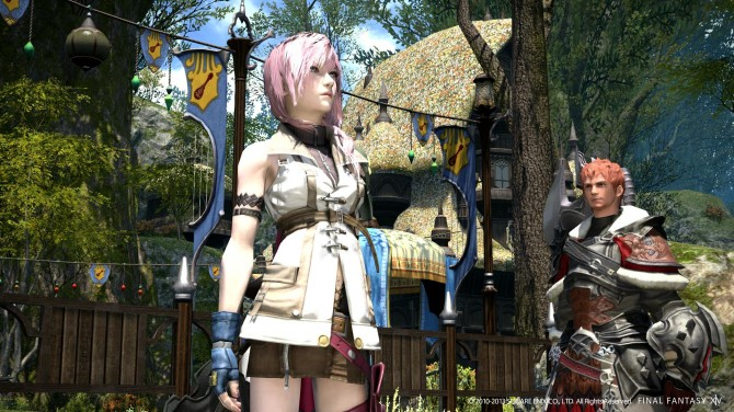 Final Fantasy XIV: A Realm Reborn/Final Fantasy XIII Crossover Event Coming on the 14th, Details Shared