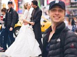What a Wally! Zach Braff channels childrens character as he photobombs couple's wedding photo