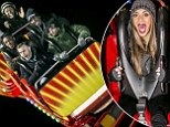 Scream if you want to go faster: Nicole and Gary take their remaining acts on hair raising rides at Hyde Park's Winter Wonderland