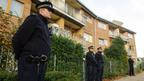 Flats in Brixton, south London, as police are conducting house-to-house inquires in the area