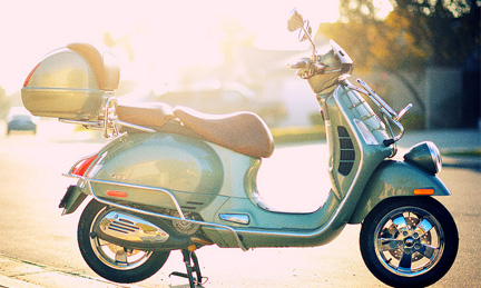 Vespa - used with permission from Creative Commons (Flickr) owned by Illusive Photography