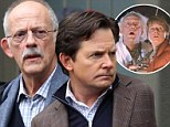 The flux capacitor still works! Michael J Fox goes Back To The Future as Christopher Lloyd makes guest appearance on his show