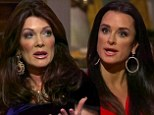 'Thanks 4 the RT calling me fat': Kyle Richards and Lisa Vanderpump take to Twitter as the spat between the Real Housewives of Beverly Hills spills out into social media