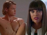 She's fierce! Tyra Banks transforms to play tough modelling agent Bichette on Glee as she tells a topless Chord Overstreet he needs to drop ten pounds