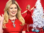'Everybody calls me fat all the time, so I can't wait to have a reason': Pregnant Kelly Clarkson weighs in on motherhood and marriage