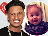 'I was nervous she wasn't going to like me!' Jersey Shore star Pauly D gushes over meeting his 'beautiful' baby girl Amabella for the first time