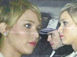 Jennifer Lawrence and Nicholas Hoult caught making a quick getaway as they leave The Daily Show studios together