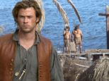 Hello, sailor! Chris Hemsworth saunters around on dry land as crew set up dramatic scenes for In the Heart of the Sea