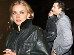 Darius Danesh spotted out with mystery blonde just four months after estranged wife Natasha Henstridge files for divorce