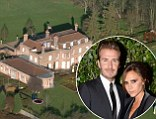 The Beckhams sell Beckingham Palace for £12 million to bid for £45 million mansion in London