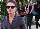 Girls day out! Maria Shriver and her daughters hit the mall on a bonding shopping trip