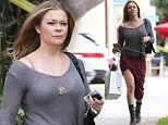 Who's the gift for? LeAnn Rimes showed off her legs as she picked up some baby gifts at Peek...Aren't You Curious in Santa Monica, California on Wednesday