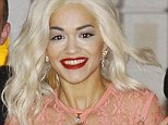 Sorry for party rocking: Rita Ora, pictured earlier this month, may face eviction if she does not turn the noise down in her West London flat