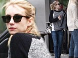 American Horror Story's resident witch Emma Roberts has legs like broomsticks in skinny jeans