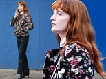 Florence Welch chats on her cellphone