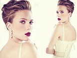 Muy caliente! Scarlett Johansson is white hot in her Vogue Mexico cover as she marks her 29th birthday