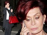 Is plastic surgery fan Sharon Osbourne fishing for compliments with ¿newly plumped¿ trout pout?