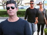 Simon Cowell brings pregnant girlfriend Lauren Silverman along for a 'great time' at the One Direction 1D event in LA