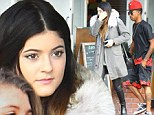 Just pick one already! Kylie Jenner spotted meeting up with rapper Lil Twist... just days after jewellery shopping with Jaden Smith