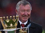 Intimidating: Campbell claims Sir Alex Ferguson (above) had a sword to keep the youth players on their toes