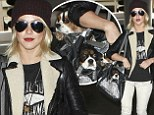 'Get ready for some play time!' Julianne Hough packs her two sweet pups along as she jets out of town for Thanksgiving